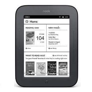 eBook Reader Nook Touch Wi-Fi