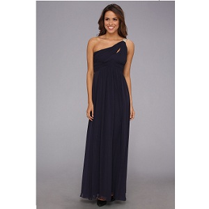 Calvin Klein Two Shoulder Gown