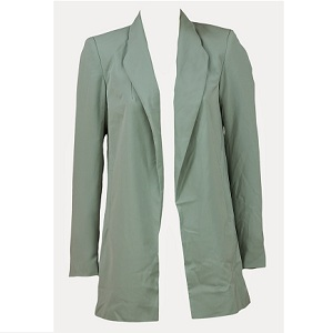 9.Sacou Vero Moda Pondo light green (4)