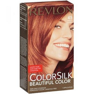 3. Revlon ColorSilk 45 Bright Auburn
