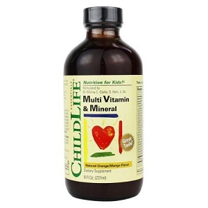 1.ChildLife Muti Vitamin & Mineral